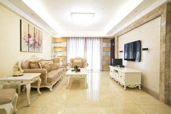 新古典风格-137.3平米三居室-装修样板间
