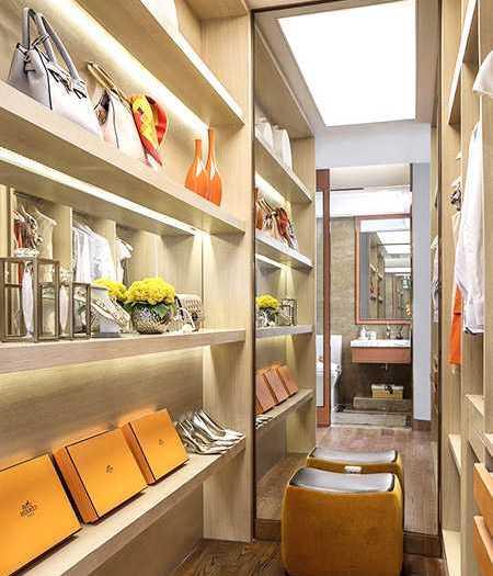 现代简约-159.3平米三居室-装修样板间