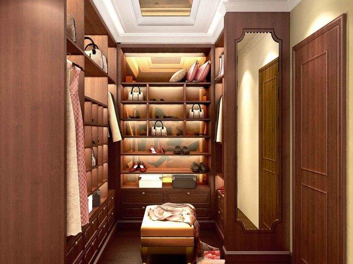 巴洛克-160平米三居室-装修样板间