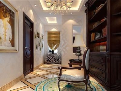 欧美风情-258平米四居室装修样板间