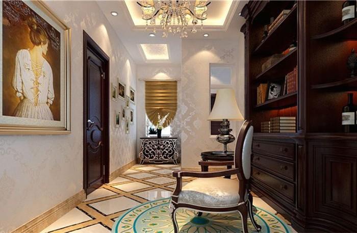欧美风情-258平米四居室-装修样板间