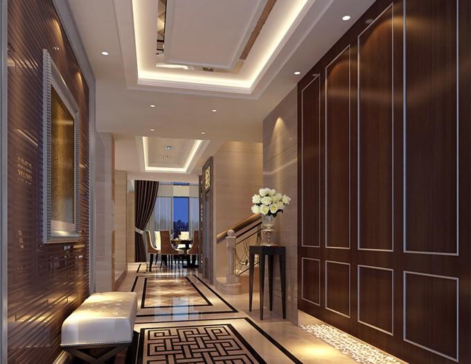 欧美风情-400平米别墅-装修样板间