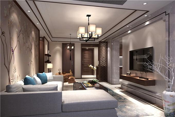 中式风格-190平米五居室-装修样板间