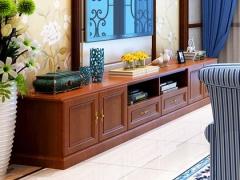 玛格定制家具 N型包覆欧式复古电视柜全套定做 客厅柜收纳柜
