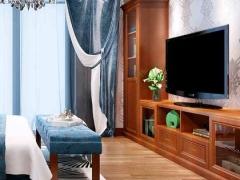 玛格定制家具 N型包覆欧式复古卧室柜类定做 电视柜书柜收纳柜