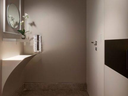 时尚简约风格卫生间设计感洗手台图片