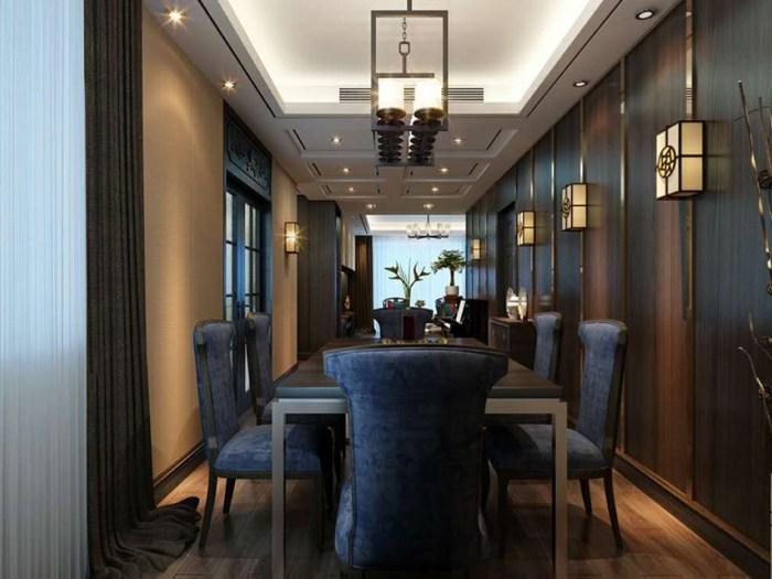 新古典风格-187平米四居室-装修样板间