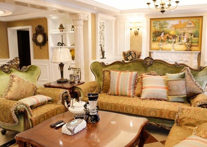 欧美风情-230平米四居室-装修样板间