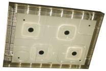 飞雕平板水晶灯 FD-LED-DYMX950F天�v
