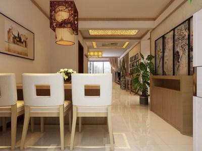 简欧风格-183平米四居室装修样板间