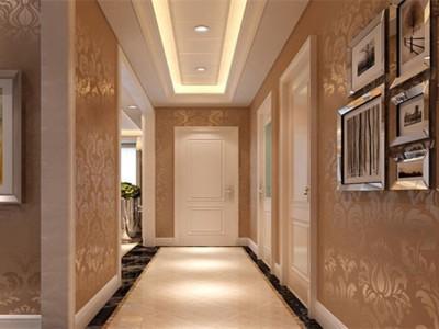欧美风情-100平米二居室装修样板间