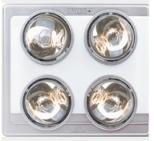 飞雕 浴霸 NS12C08C(银色)JX