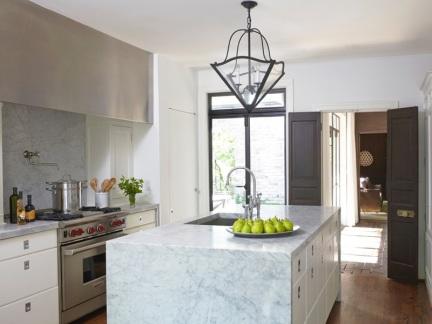 优雅现代风格明亮厨房装修图片