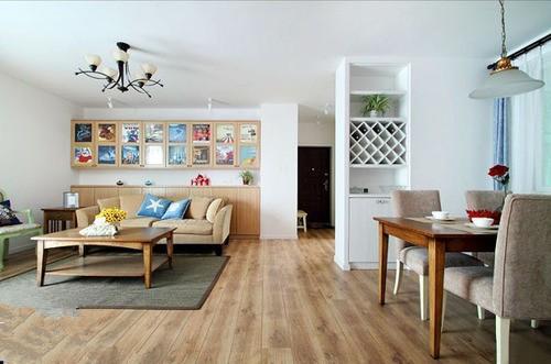 绿地国博--田园风格--三居室