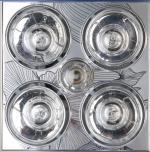 飞雕型材四灯暖-镜面花(集吊专用)FD/DHZ303-01