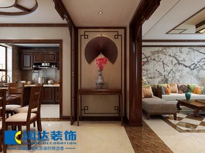 中式古典-275.47平米三居室装修样板间