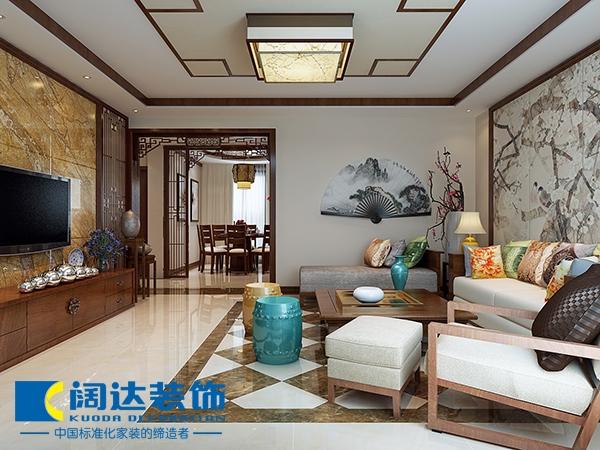 中式古典-275.47平米三居室-装修样板间