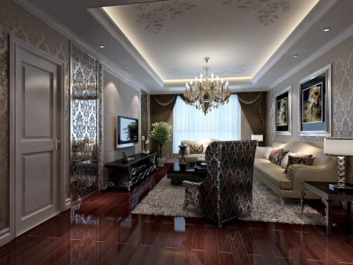 西式古典-230平米四居室-装修样板间
