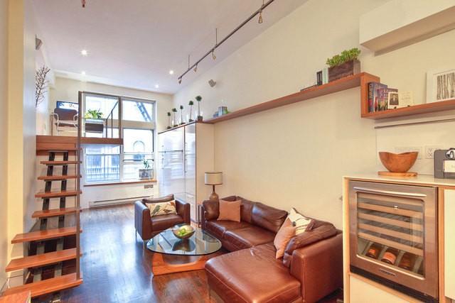 现代简约-40.49平米一居室-装修样板间