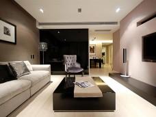 现代简约风格三居室