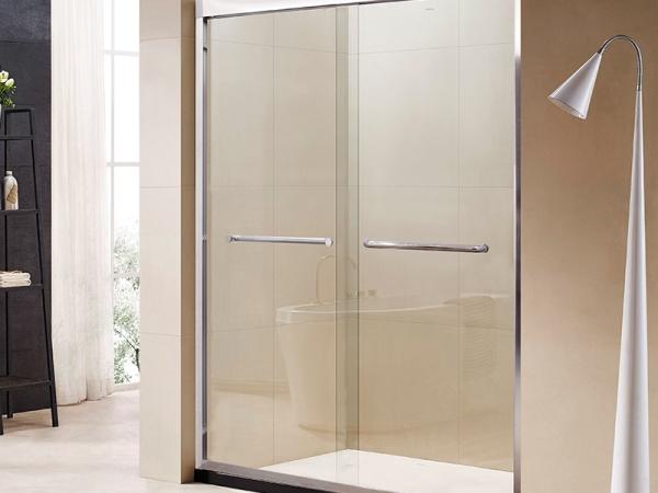 欧派定制卫浴 斯巴达淋浴房整体浴室钢化玻璃沐浴房一字形定做