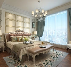 无锡碧桂园-三居室-128平米-装修设计