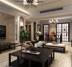 科达天意华苑-二居室-87平米-装修设计