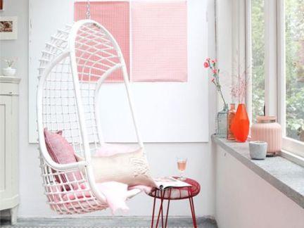 简欧个性风格阳台配白色沙发装修效果图