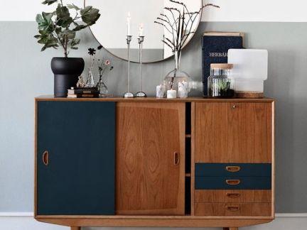 北欧风格卧室设计配原木色梳妆台装修效果图