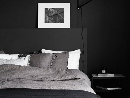 黑色系列卧室家居装修设计