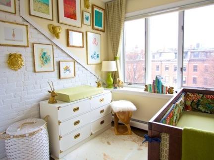 华丽简欧儿童房白色装饰柜效果图欣赏