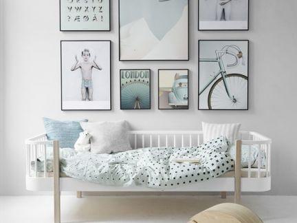 清新儿童房墙面装饰装修设计