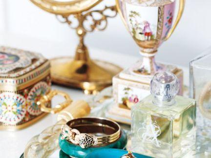 奢华欧式梳妆台装饰摆件效果图欣赏
