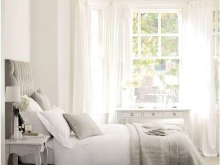 简约三居室卧室窗帘装修设计