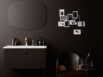 简约风格卧室设计配黑色梳妆台装修效果图