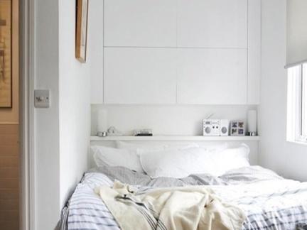 一居室卧室床头柜装修设计