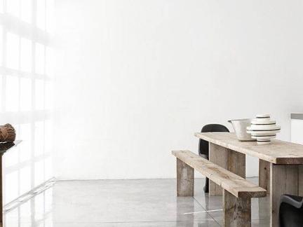 简约风格餐厅白色背景墙效果图