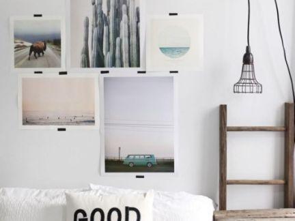 二居室简约白色卧室照片背景墙装修效果图