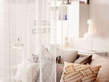 简约风格卧室配白色组合柜装修效果图