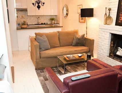 小户型美式客厅家具装修效果图