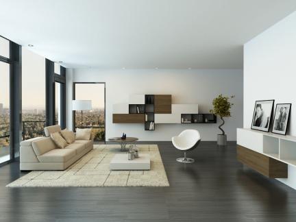 140平米别墅客厅家具装修设计