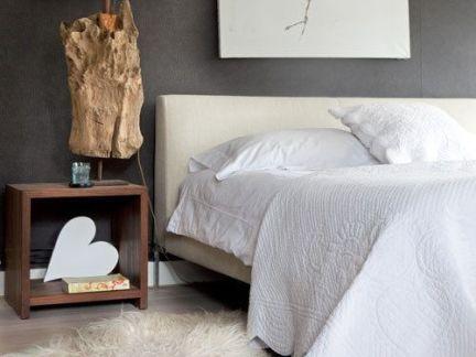 灰色格调简约个性混搭风格床头灯具设计图