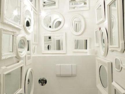 华丽北欧别墅卫生间白色墙面装饰效果图