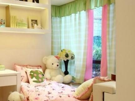 清秀可爱现代儿童房装饰设计图