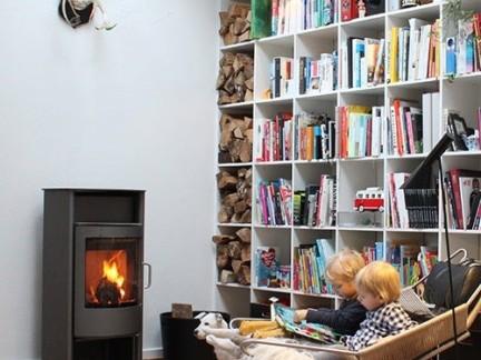 创意设计书房白色书架效果图-2017创意墙壁书架装修效果图 房天下装
