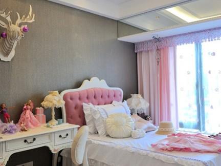 大气欧式卧室梳妆台装修设计