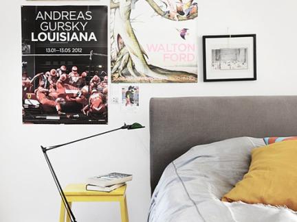 简约卧室墙面装饰图片欣赏