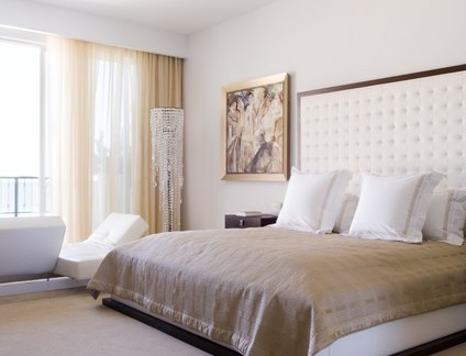 新中式大号卧室窗帘装修设计