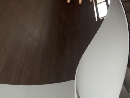 创意旋转楼梯集成墙装修设计