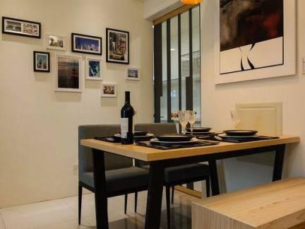 四居室餐厅照片墙装饰欣赏